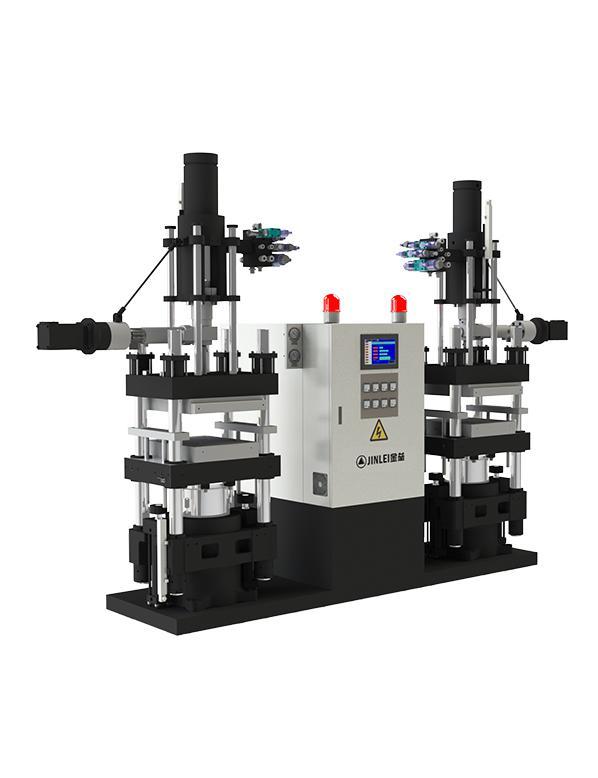 JLL-V双工位立式橡胶注射成型机
