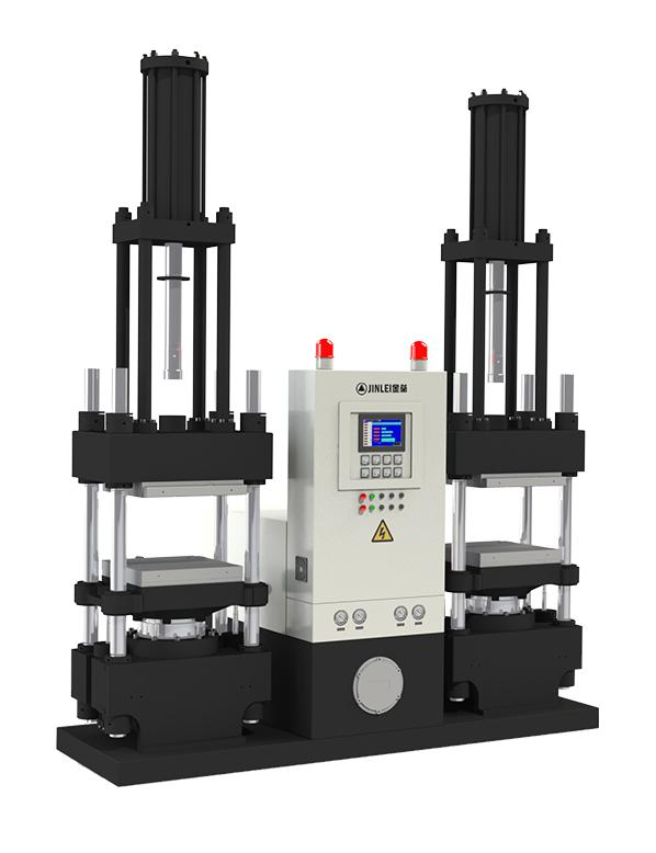 JLY-V双工位橡胶注压成型机