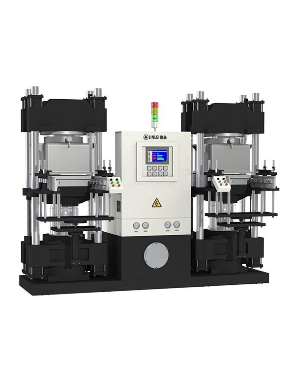 JLZ-V双工位真空平板硫化机