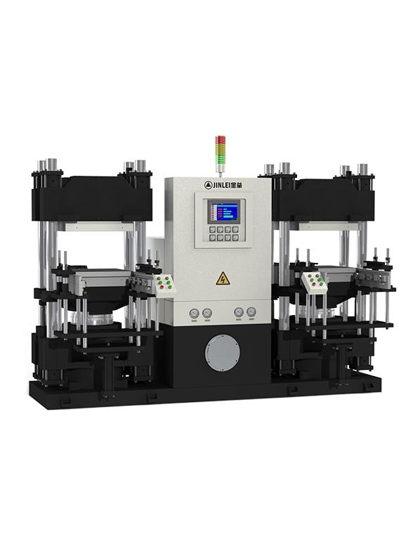 JLP-V双工位平板硫化机